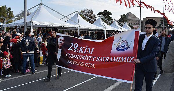 KAYSERİ'DE CUMHURİYET BAYRAMI KUTLAMALARI