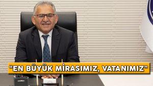 Başkan Büyükkılıç'tan 30 Ağustos Zafer Bayramı Mesajı