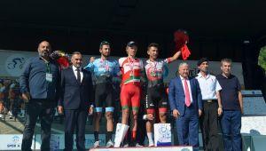 Grand Prix Erciyes Erkekler Bisiklet Yarışı Develi Etabı Tamamlandı