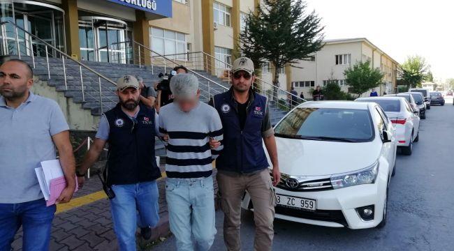 Kayseri Terör Operasyonu: 1 Gözaltı