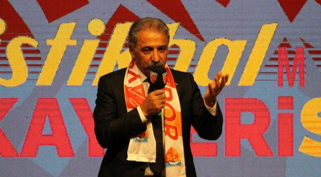 Kayserispor'dan Vefa Gecesi Açıklaması
