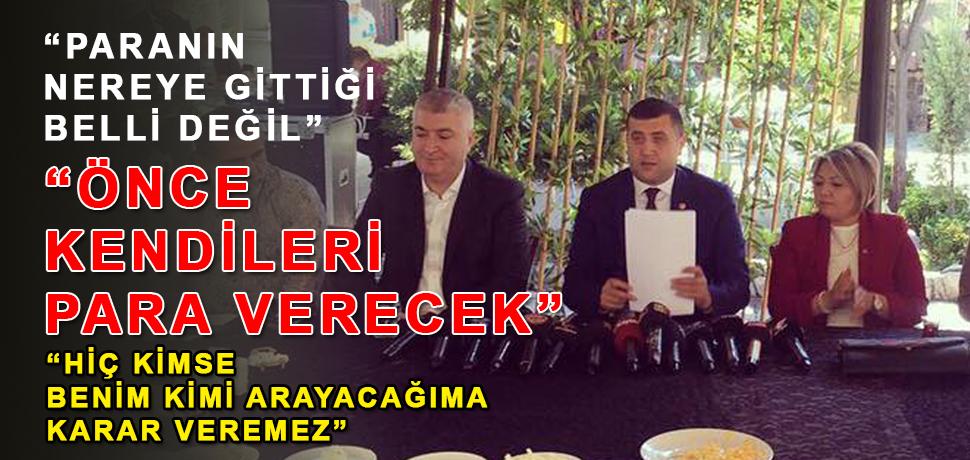 MHP Milletvekili Baki Ersoy'dan Sert Tepki