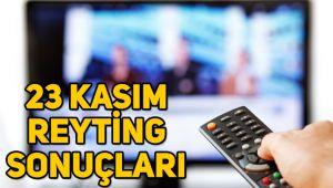 23 Kasım reyting sonuçları, Kuzey Yıldızı İlk Aşk, O Ses Türkiye, Kim Milyoner Olmak İster
