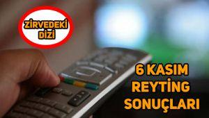 6 Kasım reyting sonuçları, Sen Anlat Karadeniz, Afilli Aşk, Kurşun