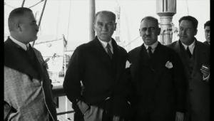 Atatürk'ün hiçbir yerde yayınlanmamış videosu