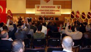 Kayserispor 30 Kasım'da Genel Kurula Gidiyor
