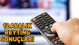 12 Aralık reyting sonuçları açıklandı, Bir Zamanlar Çukurova, Fatih Portakal ile Fox Ana Haber