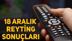18 Aralık reyting sonuçları, Kuruluş Osman, Afili Aşk, Fatih Portakal,