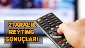 21 Aralık reyting sonuçları, Kuzey Yıldızı, O Ses Türkiye