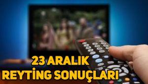 23 Aralık reyting sonuçları, Çukur, Sefirin Kızı, Fatih Portakal