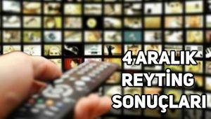4 Aralık reyting sonuçları, Kuruluş Osman, Fatih Portakal ile Fox Ana Haber