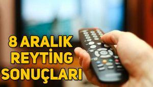 8 Aralık reyting sonuçları, Savaşçı, Güvercin, O Ses Türkiye