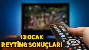 13 Ocak reyting sonuçları, Çukur, Sefirin Kızı, Fatih Portakal