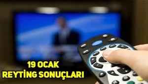 19 Ocak reyting sonuçları, Savaşçı, O Ses Türkiye kim zirvede?