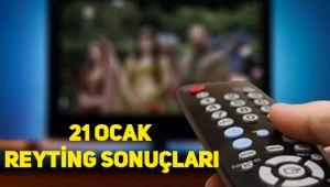 21 Ocak reyting sonuçları, Ramo, Kadın, Tutunamayanlar, Fatih Portakal