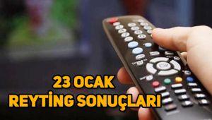 23 Ocak reyting sonuçları Bir Zamanlar Çukurova, Mucize Doktor, Fatih Portakal
