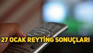 27 Ocak reyting sonuçları, Sefirin Kızı, Çukur, Yasak Elma, Fatih Portakal
