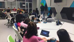 Çocuk Meclisi Üyeleri Robotik Kodlamayı Deneyimledi