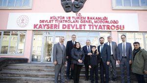 Büyükkılıç'ın gayretleri ile Devlet Tiyatrosu Kayseri'de