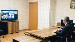 Başkan Çopuroğlu, il başkanları toplantısına online olarak katıldı