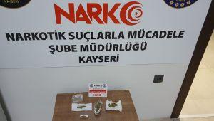 Kayseri'de uyuşturucu operasyonu: 9 gözaltı