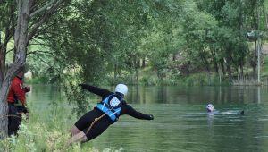 Turkuaz Sualtı Kurtarma ekibi, kurtarma eğitimlerine başladı