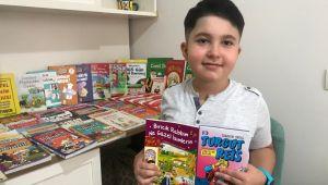 8 yaşındaki kitap kurdu, 3 ayda 78 kitap okudu