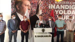 """AK Parti İl Başkanı Çopuroğlu, """"Darbe rüyası görenlerin korkulu rüyası olduk"""""""
