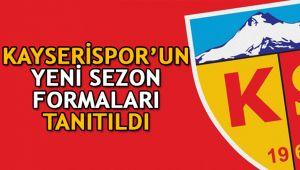 Kayserispor'un yeni sezon formaları