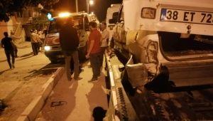Yeşilhisar'da kaza: 1 yaralı