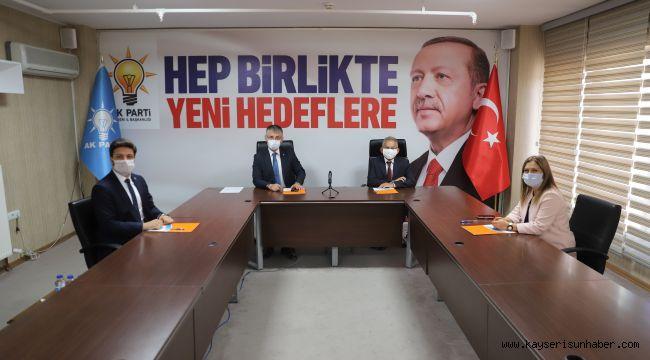 Başkan Büyükkılıç, AK Parti il Başkanları Toplantısına Katıldı