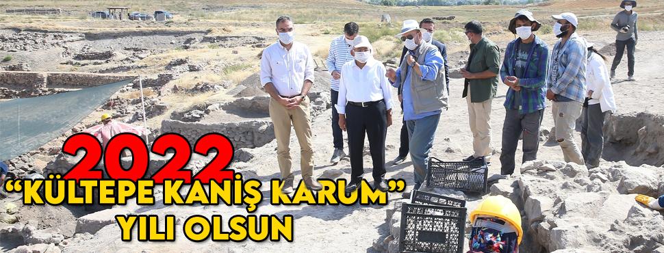 Başkan Büyükkılıç'ın 'Kültepe' ısrarı