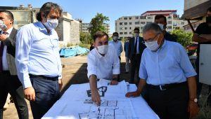 Başkan Büyükkılıç'tan 'restorasyon' kararlılığı