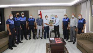 Başkan Öztürk, Zabıta Haftası'nı personeliyle kutladı