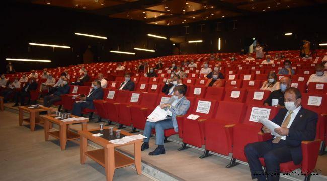 Büyükşehir Belediyesi Eylül ayı meclisi yapıldı