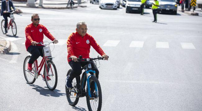 Cadde ve sokaklarda Avrupa Hareketlilik Haftası