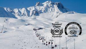 Erciyes'e 2020 Travellers' Choıce Ödülü