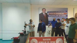 Gençlik ve Spor İl Müdürü Kabakçı Erciyes Kamp Merkezi'ni inceledi
