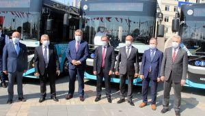 Kayseri Büyükşehir Belediyesi otobüs filosunu 657'ye çıkardı
