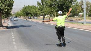 Kayseri'de havadan trafik denetimleri artırıldı