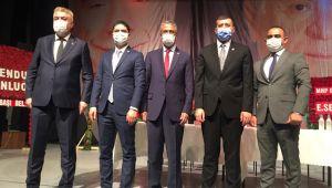 MHP İl Başkanı Serkan Tok, güven tazeledi