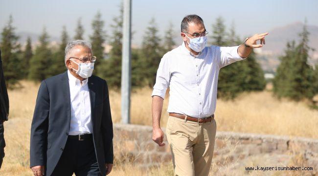 Recep Tayyip Erdoğan Millet Bahçesi'ne ilk harç dökülüyor