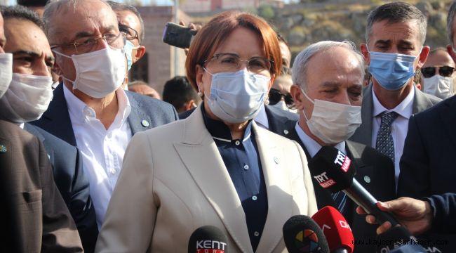 İyi Parti Genel Başkanı Meral Akşener Ümit Özdağ hakkında açıklamalarda bulundu
