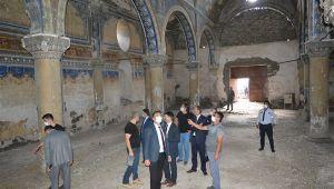 Kültür ve Turizm İl Müdürü Dursun, kültürel ve turistik alanlarda inceleme yaptı