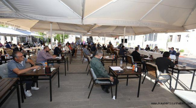 Melikgazi Belediyesi Ekim Ayı Meclis Toplantısı gerçekleşti