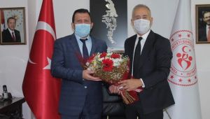 Soykarcı'dan, Gençlik ve Spor İl Müdürü Kabakcı'ya ziyaret