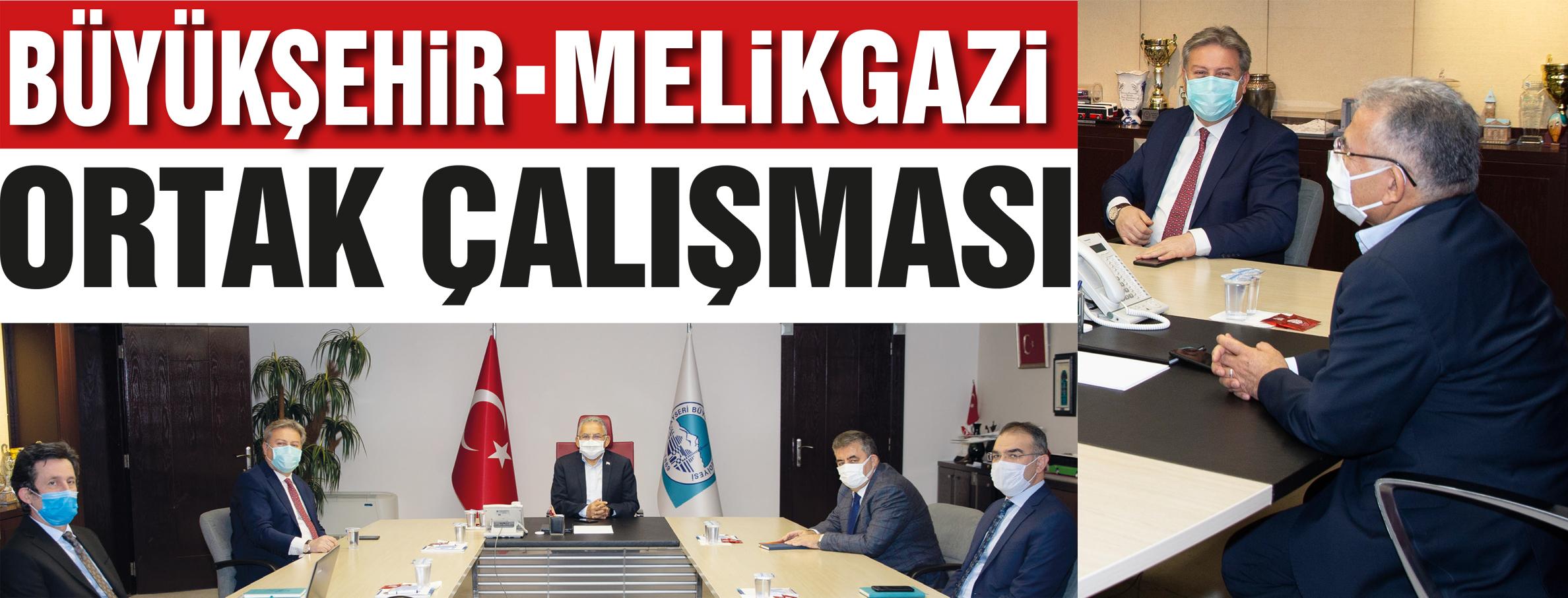 Büyükkılıç'tan 'Ortak' Melikgazi çalışması
