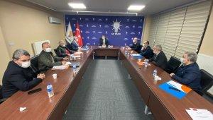 Başkan Çopuroğlu'ndan İlçe Başkanları ve Belediye Başkanları ile istişare toplantısı