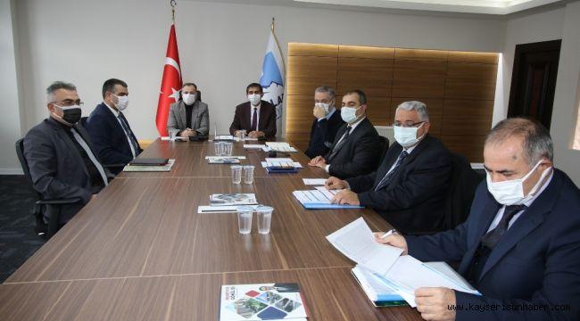 Hacılar'da KASKİ yatırım toplantısı yapıldı