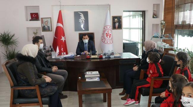 Bünyanlı voleybolculardan Kabakcı'lya ziyaret